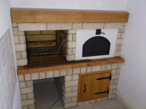 6b - Pečenjara i krušna peć izrada