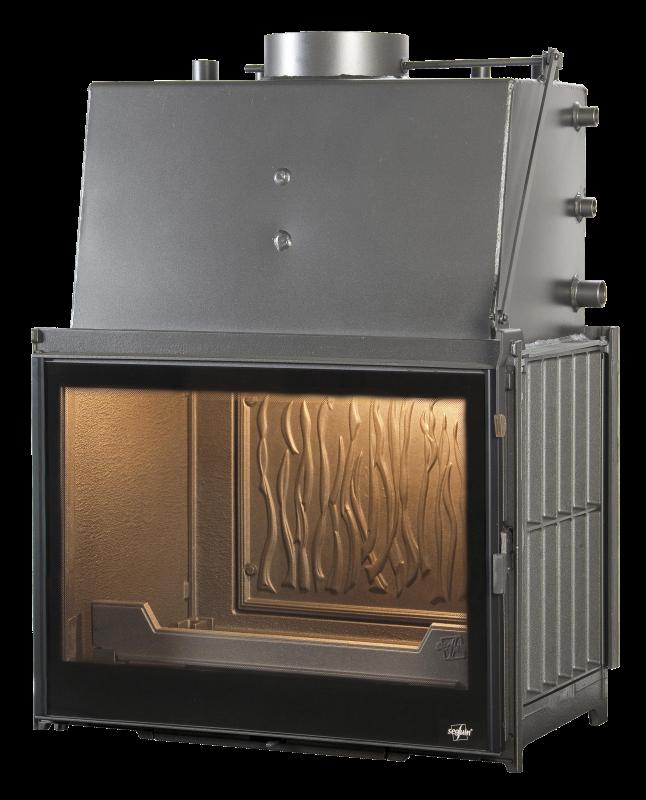 Kamini za centralno grijanje na drva - Seguin Multivision 7000 hydro