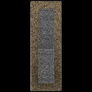 Rozeta za kamin ZLATNA 2 11X32