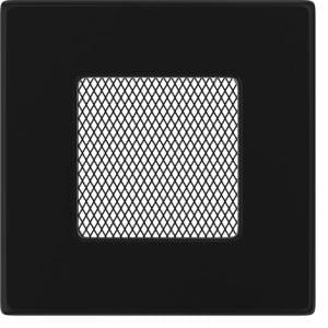 Rozeta za kamin CRNA 11x11