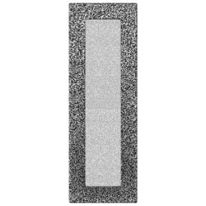 Rozeta za kamin SREBRNA 11x32