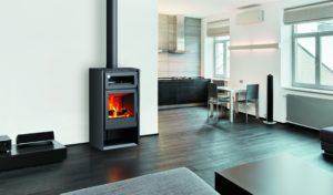 HERMES ložište na drva s pekom. Male veličine i odličnih performansi. Opcionalni ventilacijski sustav. 84% efikasnosti, minimalne emisije na 0,06%.