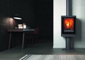 Nudi prekrasan pogled na vatru zahvaljujući podnoj instalaciji - viši i više estetski ugodan.